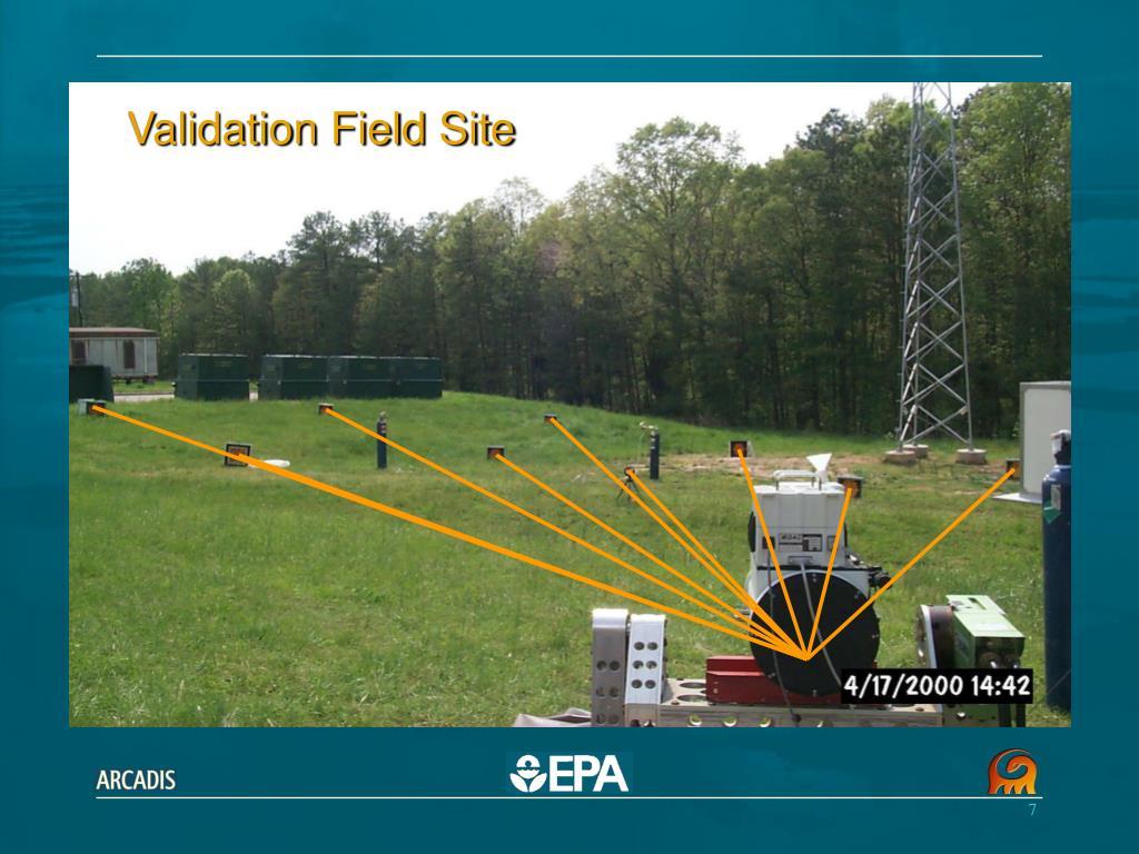 Validation Field Site