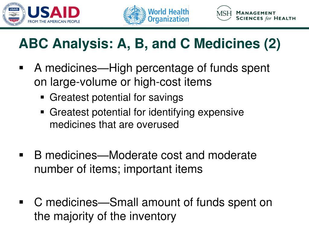 A medicines
