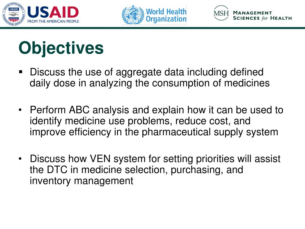 Discuss the use of aggregate data including defined daily dose in analyzing the consumption of medicines