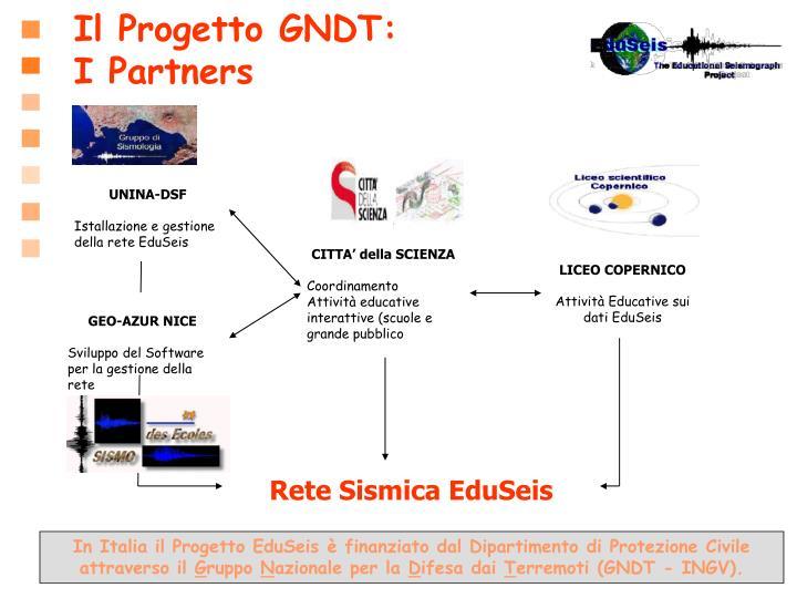 Il Progetto GNDT: