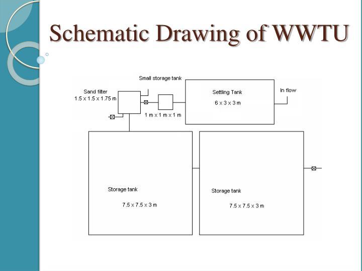 Schematic Drawing of WWTU