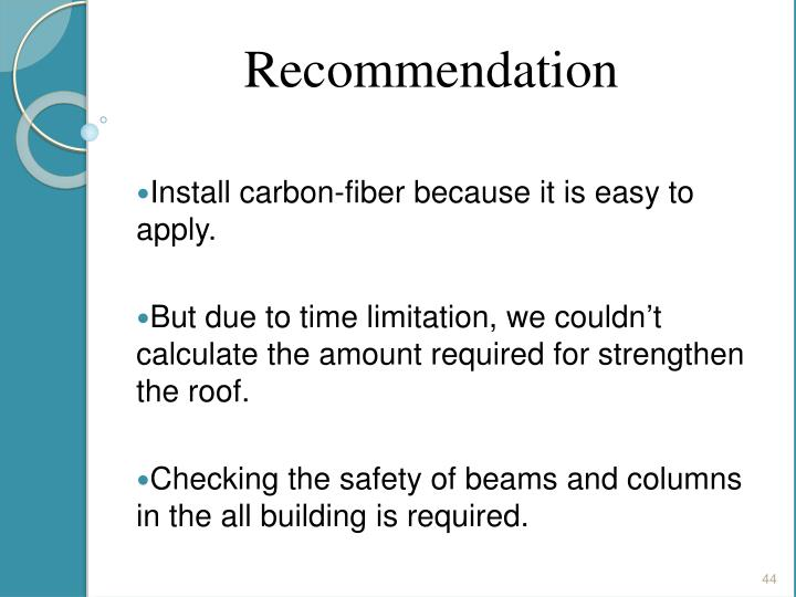 Install carbon-fiber because it is easy to apply.