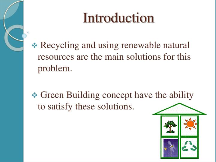 Recycling and using renewable natural resources are the main solutions for this problem.
