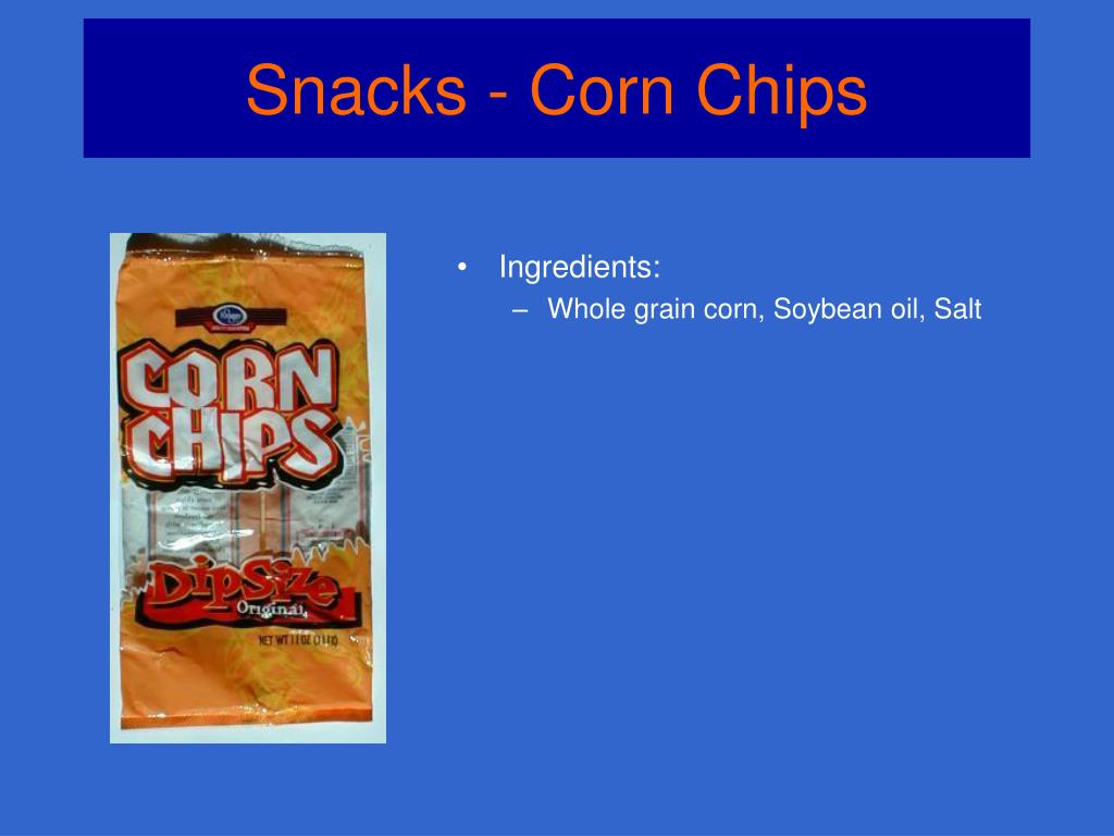 Snacks - Corn Chips