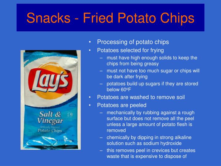 Snacks fried potato chips3