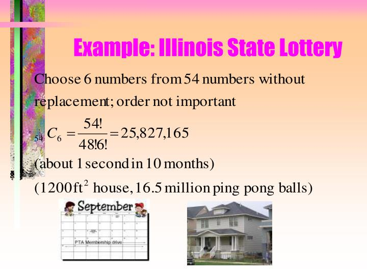 Example: Illinois State Lottery