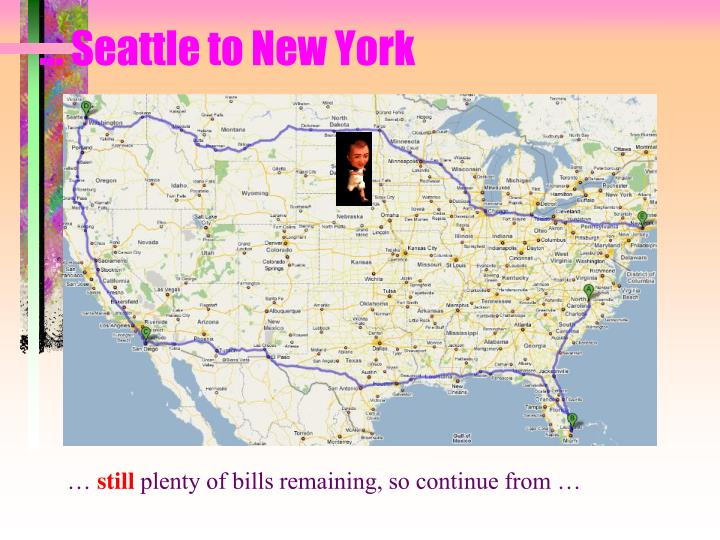 … Seattle to New York