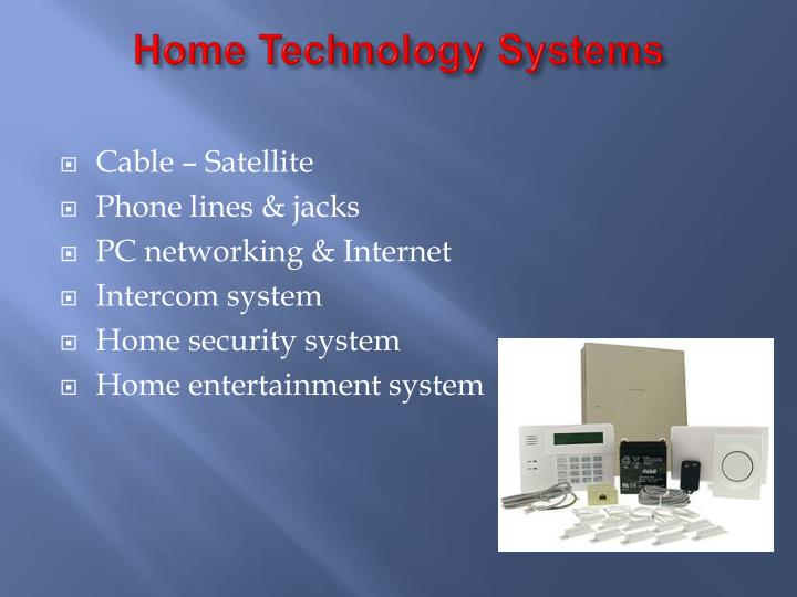 Home Technology Systems