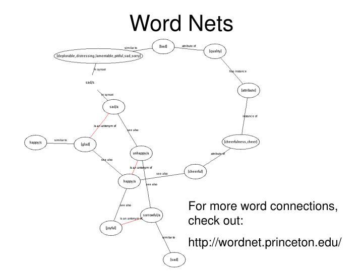 Word Nets