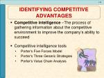 identifying competitive advantages2