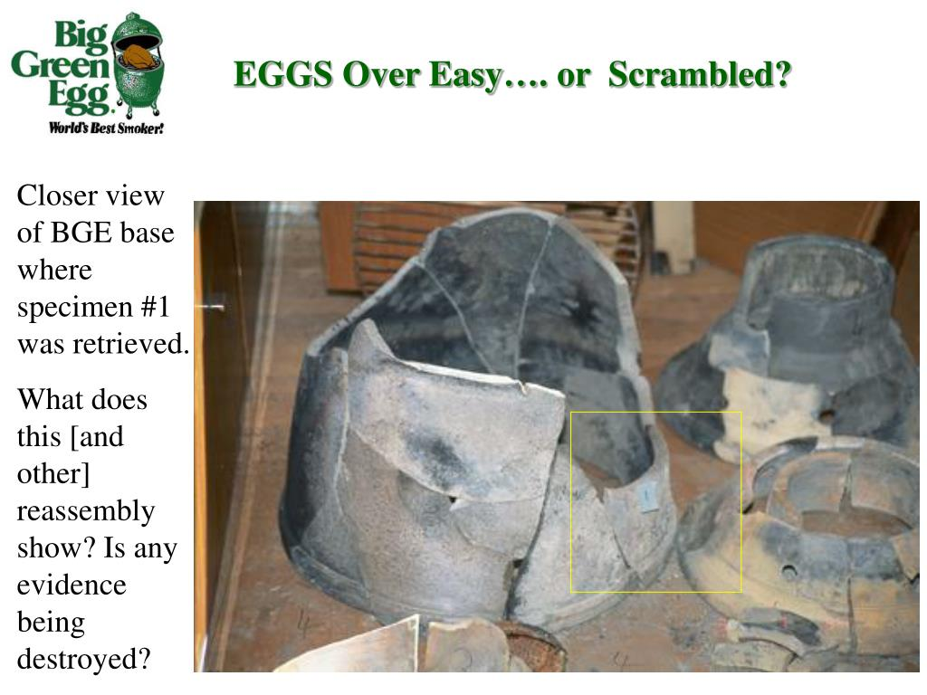 EGGS Over Easy…. or  Scrambled?