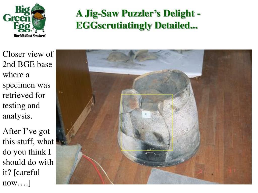 A Jig-Saw Puzzler's Delight - EGGscrutiatingly Detailed...
