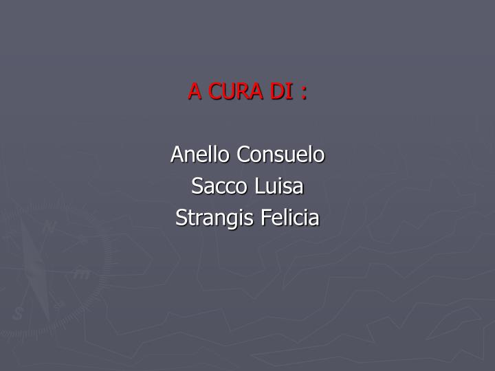 A CURA DI :