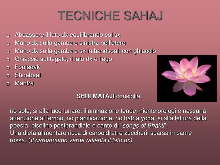 TECNICHE SAHAJ