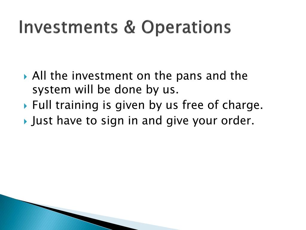 Investments &
