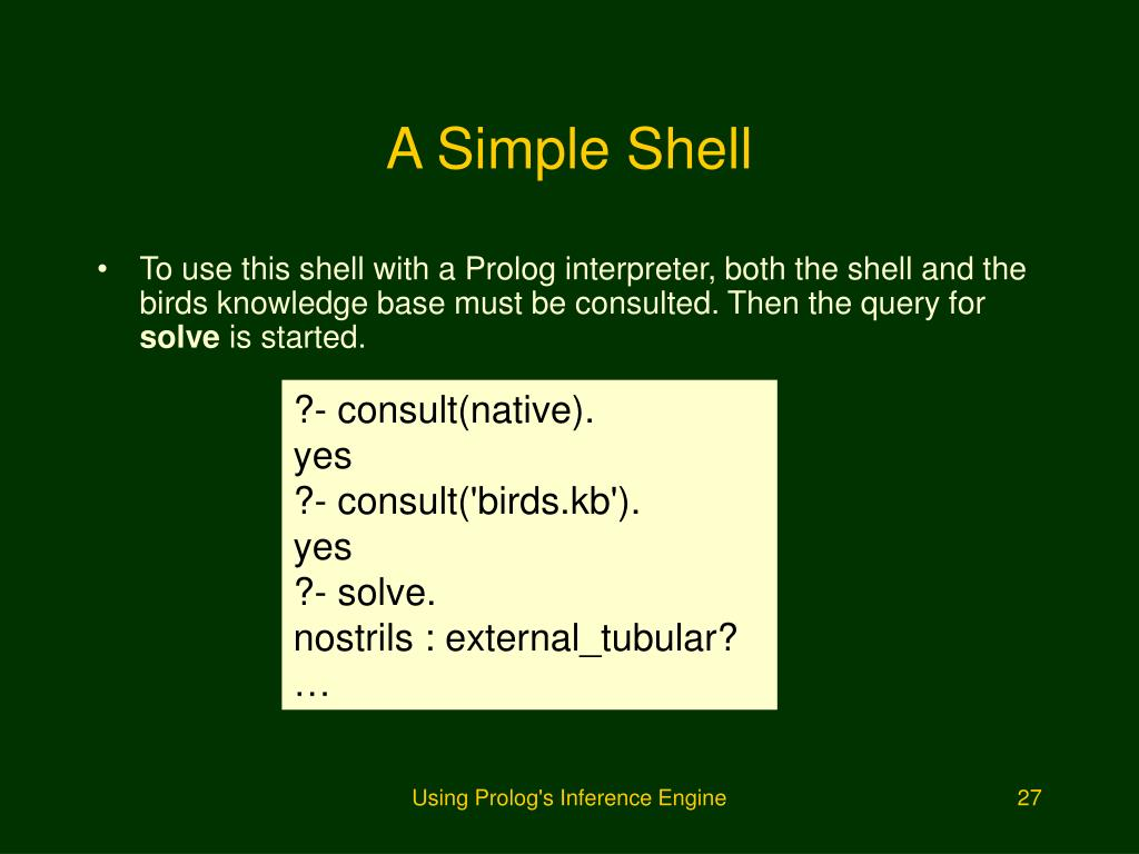 A Simple Shell