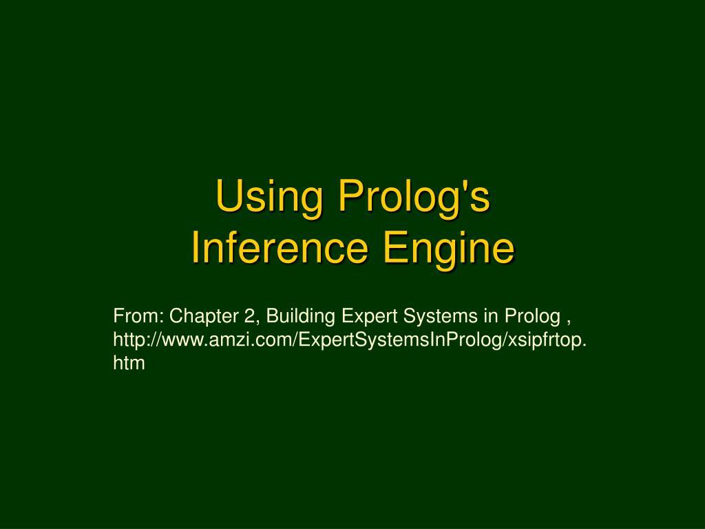 Using Prolog's