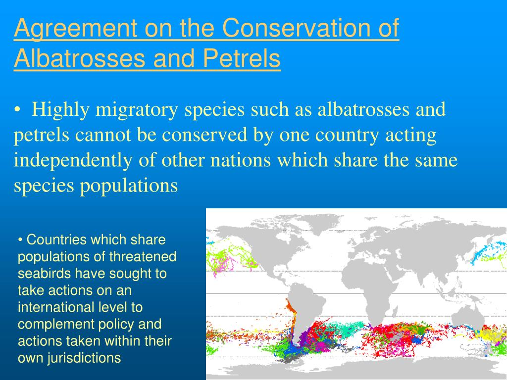 Agreement on the Conservation of Albatrosses and Petrels
