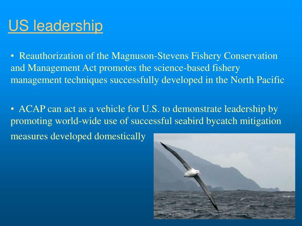 US leadership
