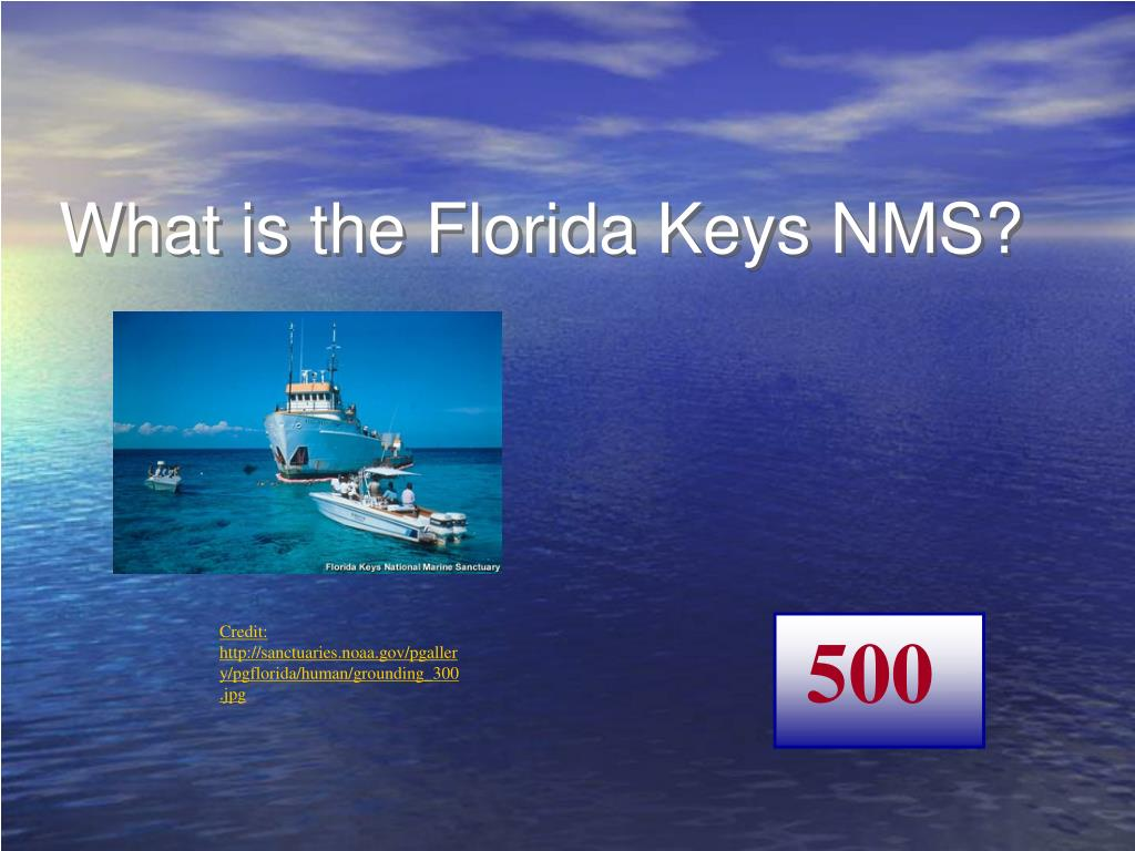 What is the Florida Keys NMS?