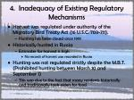 4 inadequacy of existing regulatory mechanisms