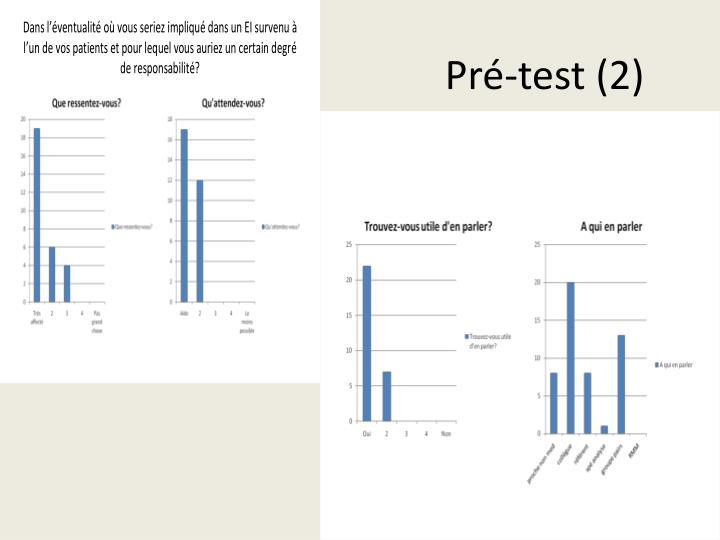 Pré-test (2)