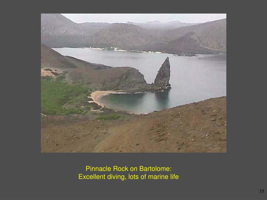 Pinnacle Rock on Bartolome: