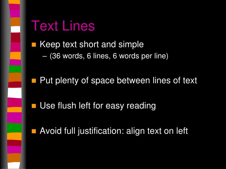Text Lines