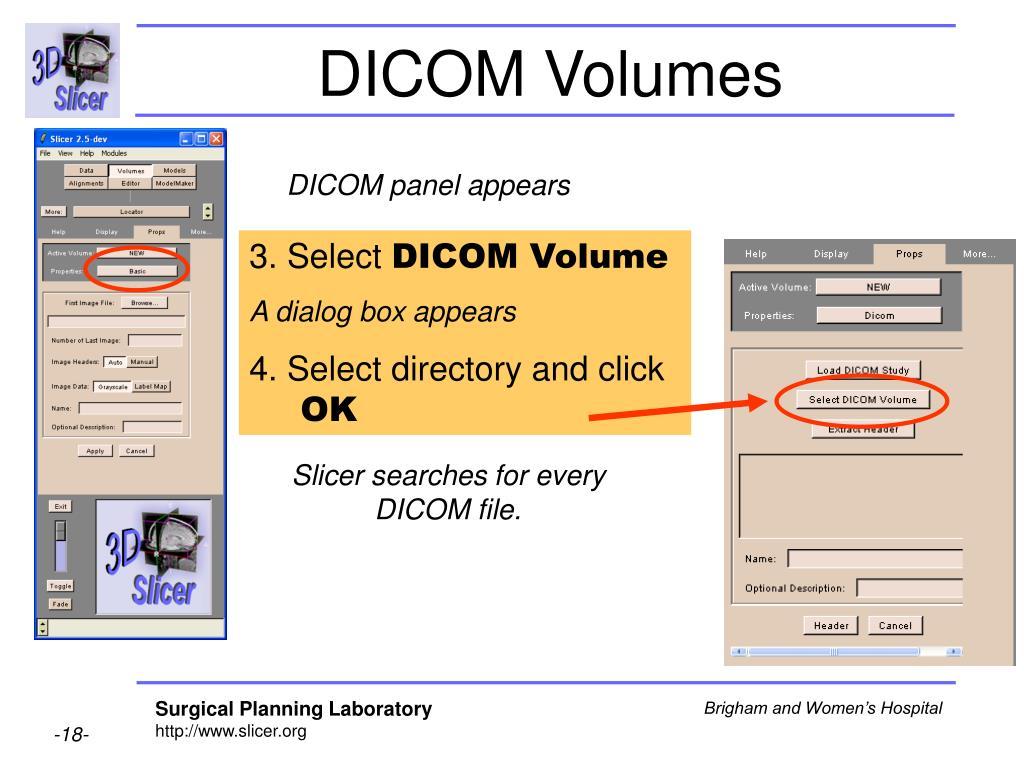 DICOM Volumes