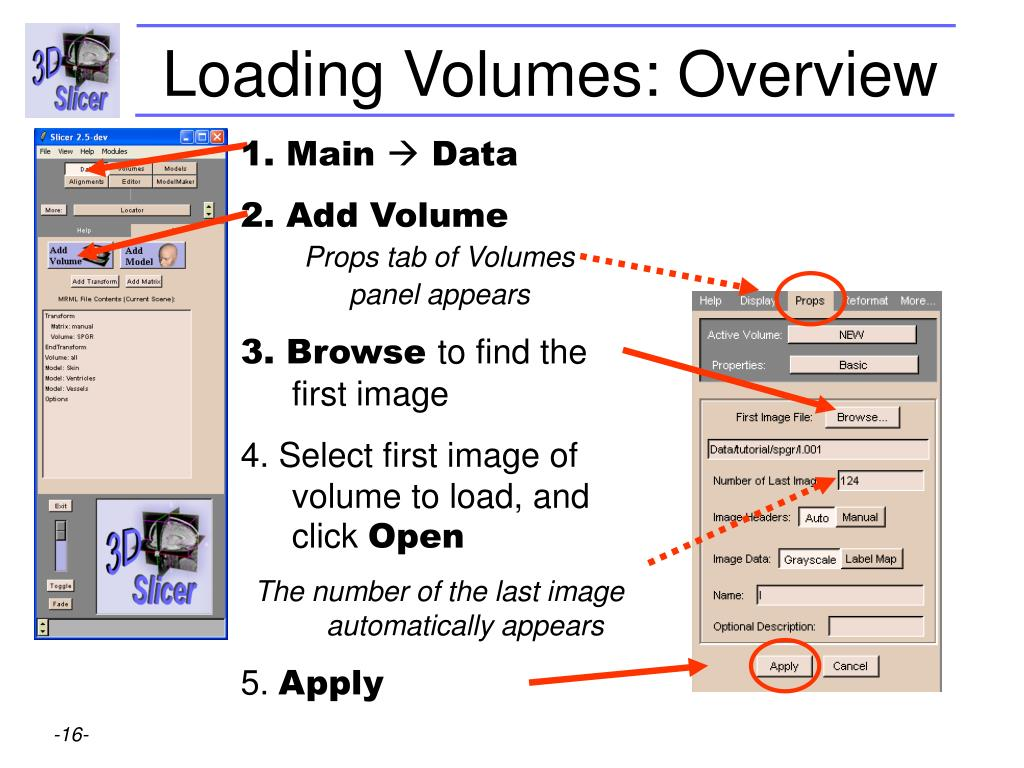 Loading Volumes: Overview