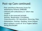 post op care continued23