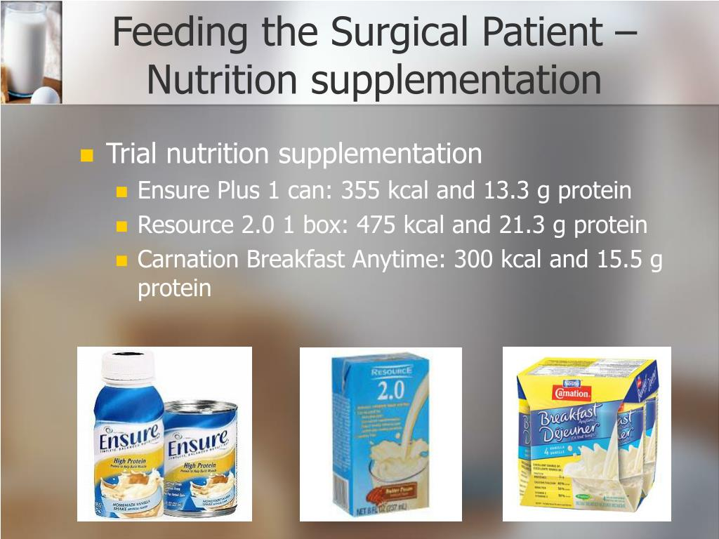Feeding the Surgical Patient –