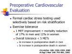 preoperative cardiovascular evaluation24