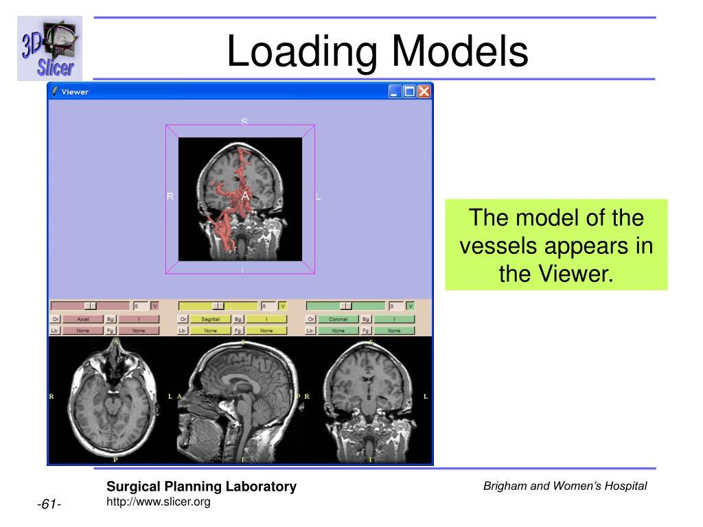 Loading Models