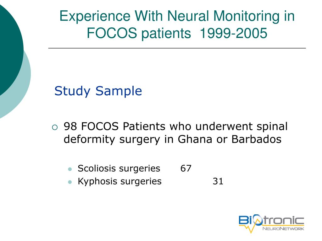 Experience With Neural Monitoring in FOCOS patients  1999-2005