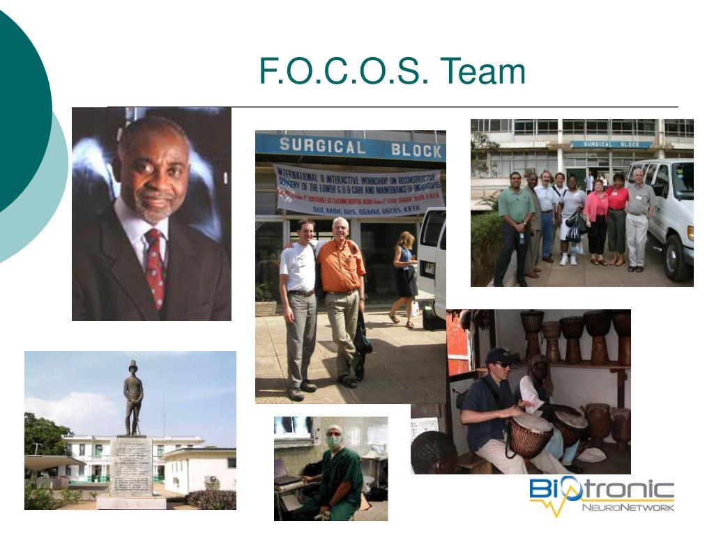F.O.C.O.S. Team