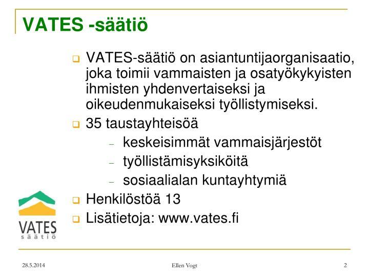 VATES -säätiö
