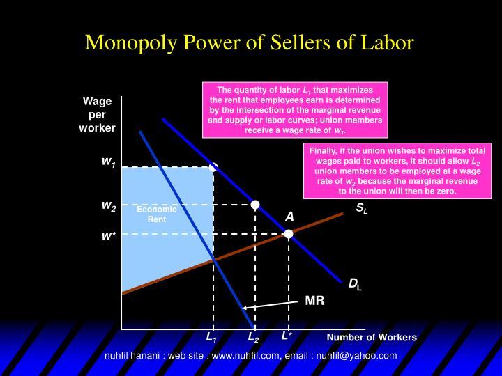 The quantity of labor