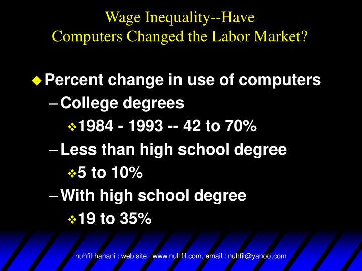 Wage Inequality--Have