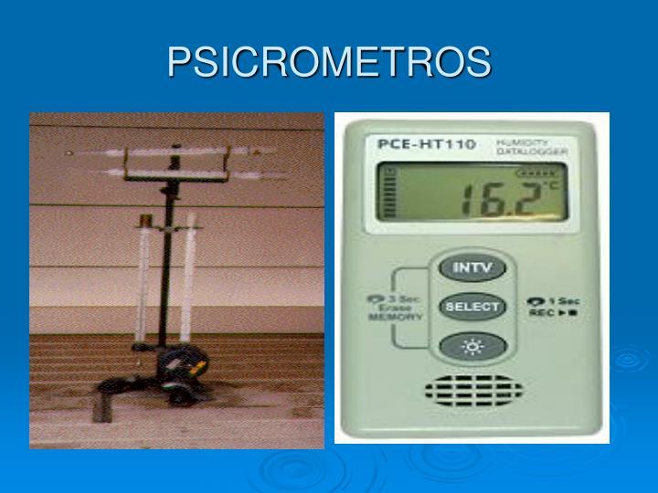 PSICROMETROS