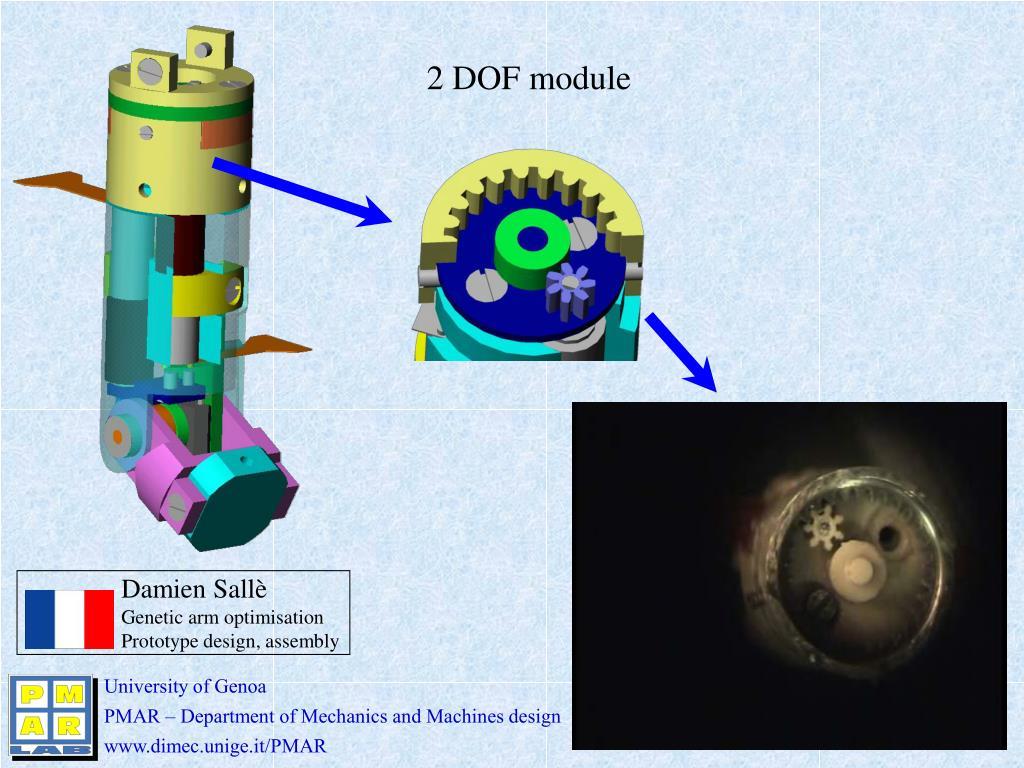 2 DOF module
