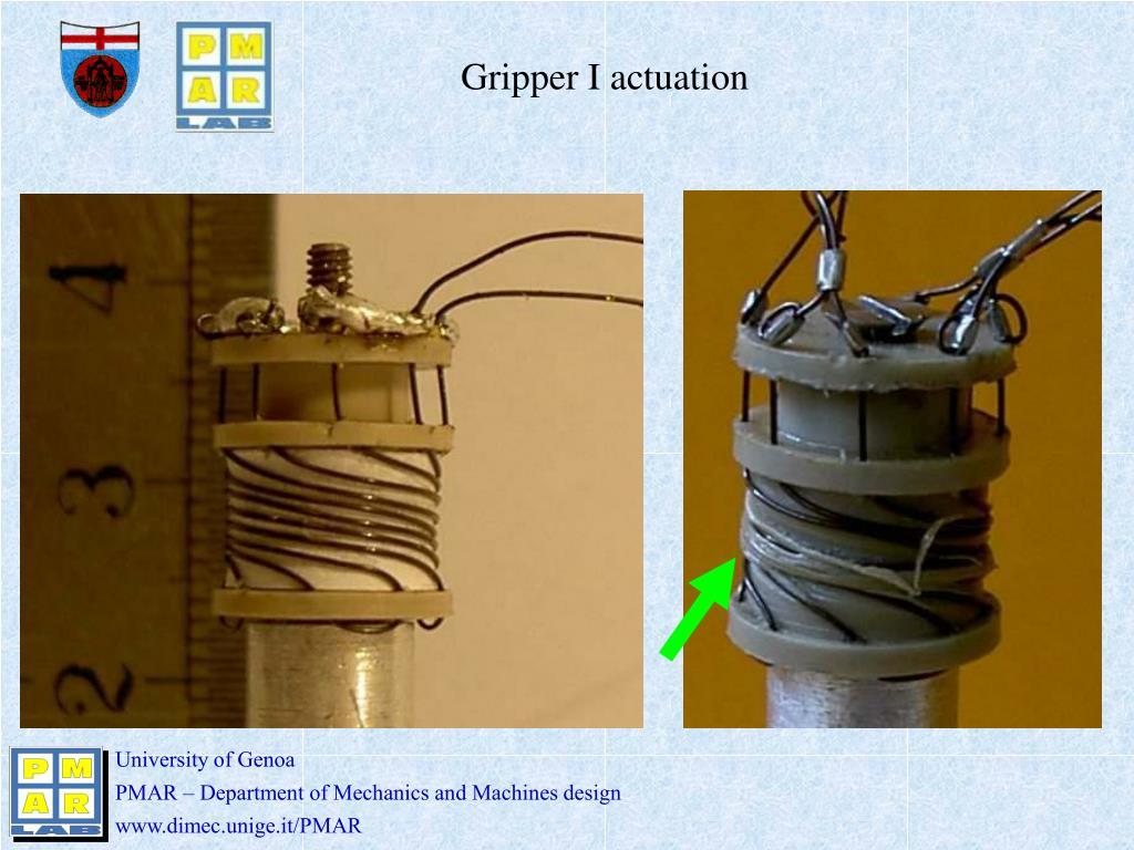 Gripper I actuation