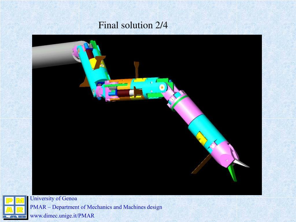 Final solution 2/4