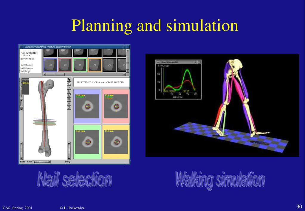 Planning and simulation
