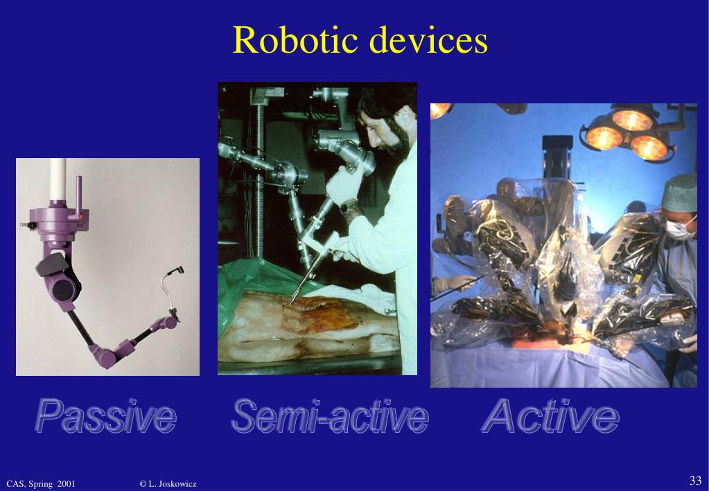 Robotic devices