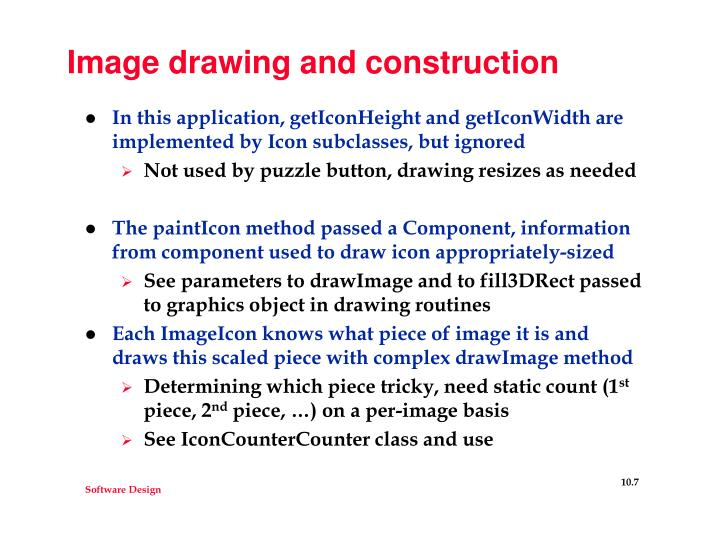 Image drawing and construction