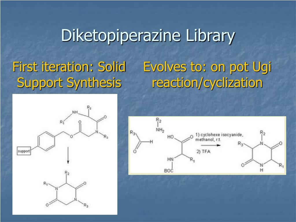 Diketopiperazine Library