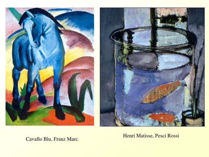 Cavallo Blu, Franz Marc