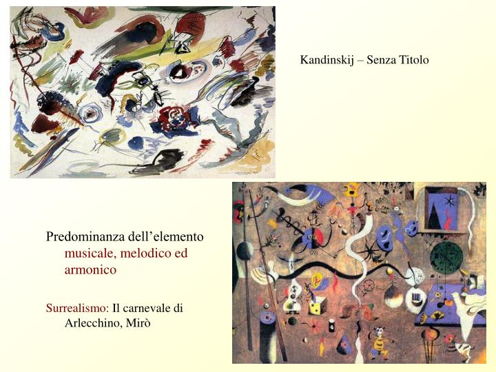 Kandinskij – Senza Titolo