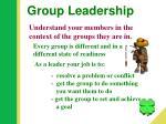 group leadership